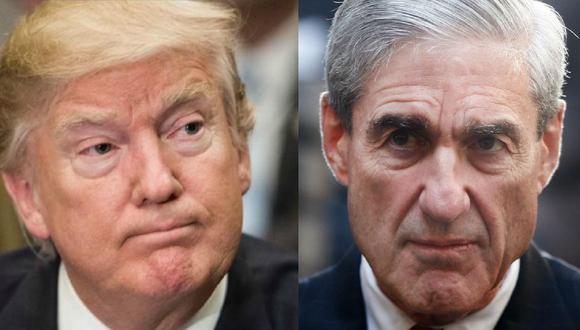 Informe de Robert Mueller: Donald Trump temió que la investigación sobre Rusia acabara con su presidencia. (AFP / AP).