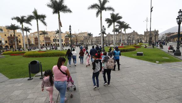 Turistas y familias ya pueden volver a disfrutar de este espacio público. (Foto: GEC)
