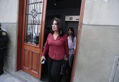 Martha Chávez asume la defensa de Fuerza Popular en audiencia para incluir al partido en investigación