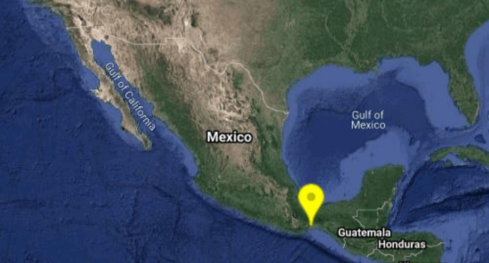 El movimiento telúrico se dio a las 8 de la noche, hora local de México. (Foto: Twitter / Servicio Sismológico Nacional)
