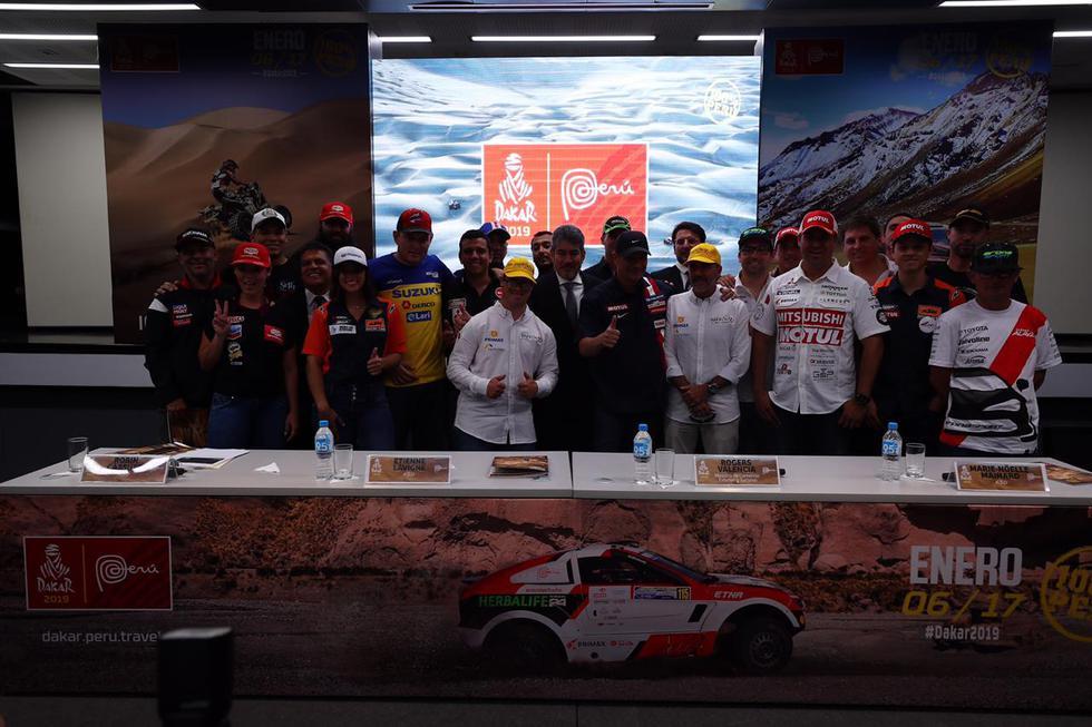 Así fue la presentación del Rally Dakar 2018, competencia que se realizará íntegramente en el Perú. (Foto: Daniel Apuy)