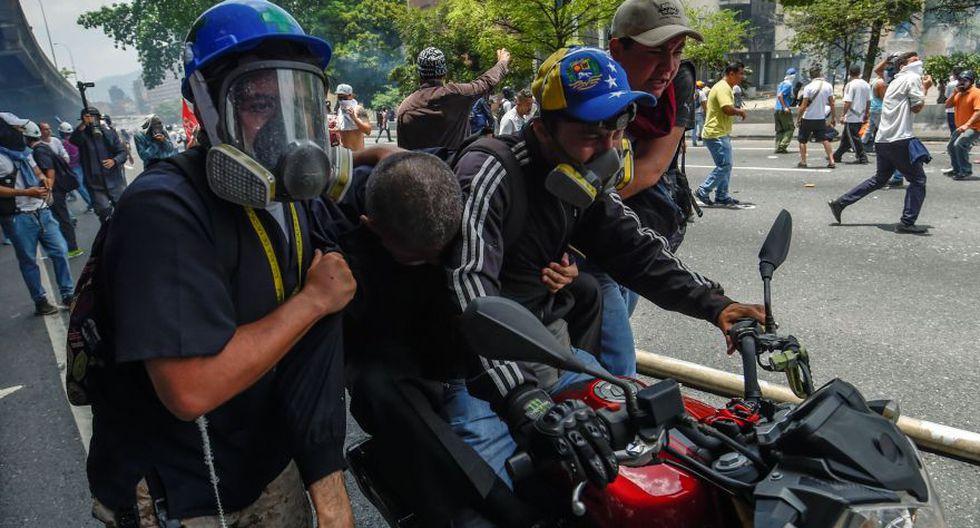 Venezuela: Las fotos más impactantes de la brutal represión - 34