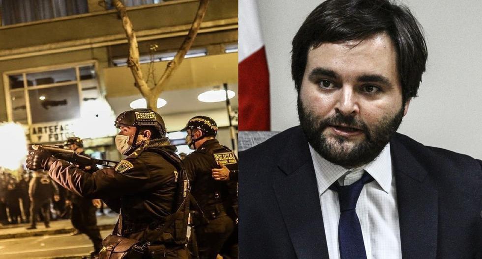"""A pesar de la evidencia sobre abusos policiales denunciados por ciudadanos, el ministro Rodríguez dijo que se habían """"ajustado para ser los más prudentes en el uso de la fuerza"""". Alberto de Belaúnde, miembro de la comisión de Justicia, confirmó que Rodríguez será citado para este lunes."""