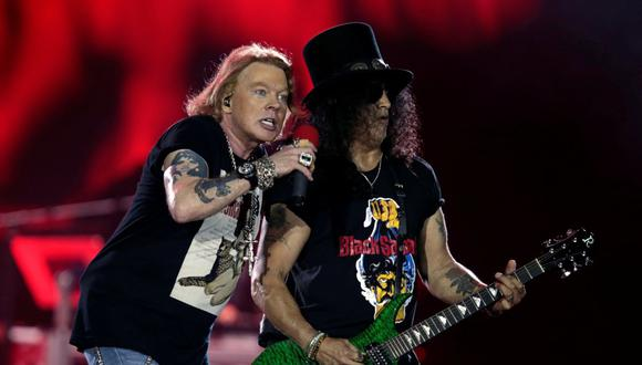 En un principio, Guns N' Roses se iba a presentar en Lima el 24 de marzo. (Foto: Reuters)