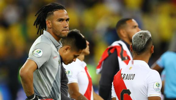 Pedro Gallese fue el arquero con más atajadas en la Copa América. (Foto: Daniel Apuy / El Comercio)