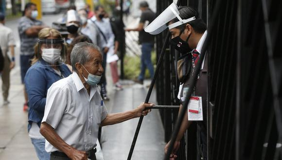 En caso de percibirse más de una pensión, el reajuste se hará sobre la pensión de mayor monto. (Foto: Andrés Paredes / GEC)