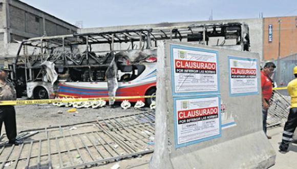 Cada tres días se habilitó un terminal terrestre en la gestión de Edmer Trujillo