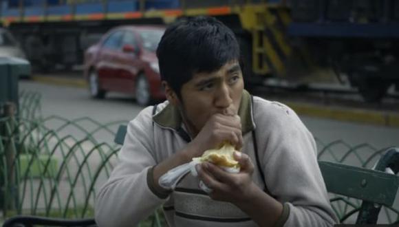 """Jesús Luque es Elisbán en """"Manco Cápac"""", filme de Henry Vallejos. (Captura de pantalla)"""