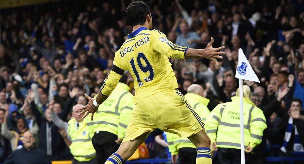 Costa se burló, peleó y anotó dos goles en triunfo de Chelsea - 15