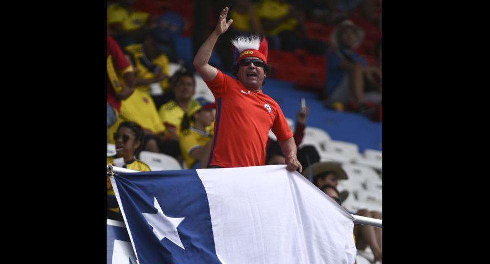 Colombia-Chile: belleza, color e ilusión en previa del partido - 9