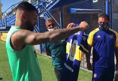 Boca Juniors entregó camiseta de Carlos Tevez a 'Gabigol', verdugo de River Plate | VIDEO