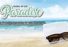Lentes de sol Paradise: moda y protección este verano