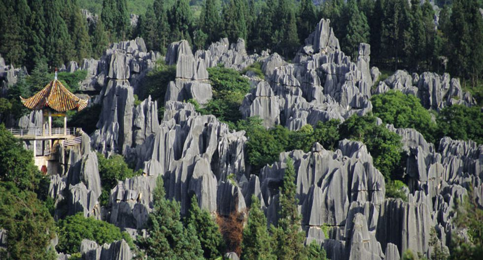 Conoce este espectacular bosque de piedra en China - 5