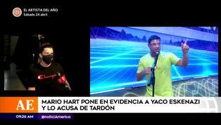 Mario Hart y Yaco Eskenazi protagonizan tensa discusión en EEG