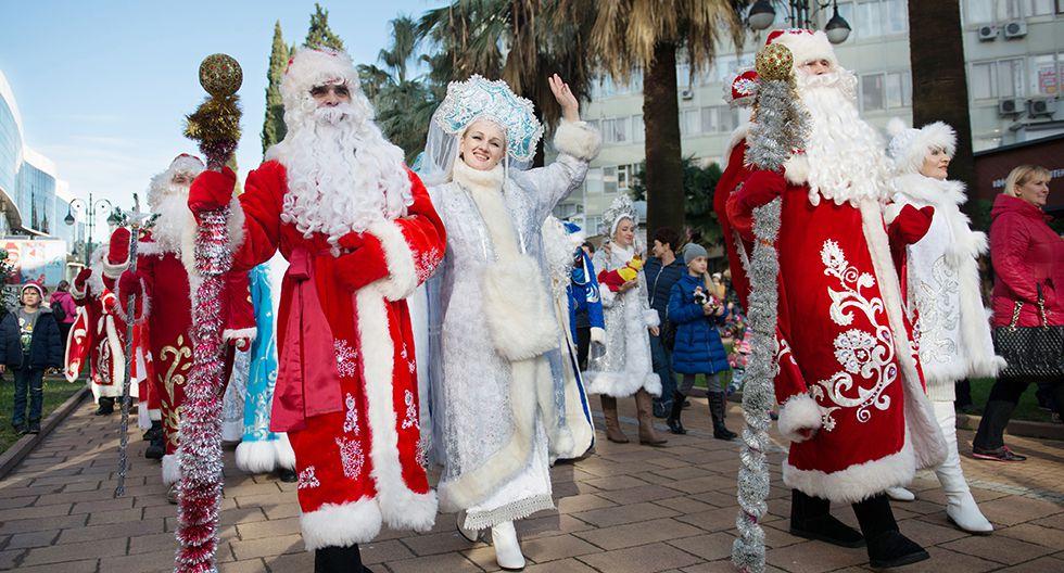 La urbe de Veliky Ustug es reconocida por los rusos como el lugar de residencia de Ded Moroz (Papá Noel). (Foto: Getty Images)