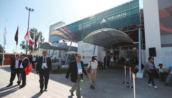 En Arequipa se realiza la convención minera conocida como Perumin. Se discuten, en foros abiertos, los problemas que enfrentan las operaciones mineras en el Perú. (Foto: Lino Chipana/El Comercio)