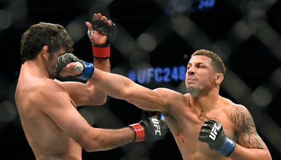 UFC también para: suspendieron los próximos tres eventos por el coronavirus. (Foto: AFP)