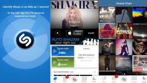 Shazam te permitirá escuchar canciones completas