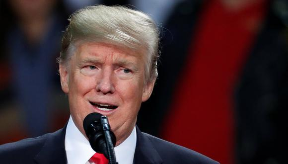 Donald Trump. (Reuters).