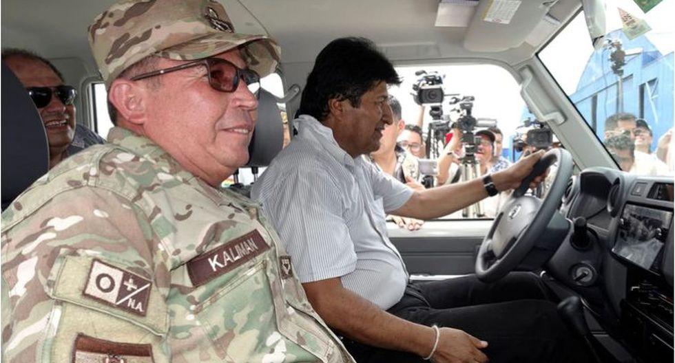 El comandante en jefe de las Fuerzas Armadas de Bolivia, el general Williams Kaliman, pidió al presidente Evo Morales que renuncie, en medio de protestas por su cuestionada reelección en los comicios del 20 de octubre. (Reuters).