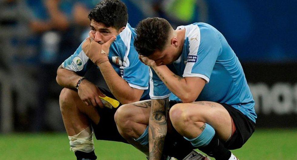 Pedro Gallese atajó el penal pateado por Luis Suárez, el cual terminó siendo fundamental para la clasificación a las semifinales de la Copa América 2019 (Foto: AFP)