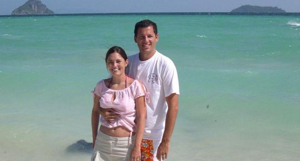 Pablo García Oliver y su esposa Mora se encontraban en las islas Phi Phi cuando les sorprendió el tsunami en 2004. Foto: PABLO GARCÍA OLIVER, vía BBC Mundo