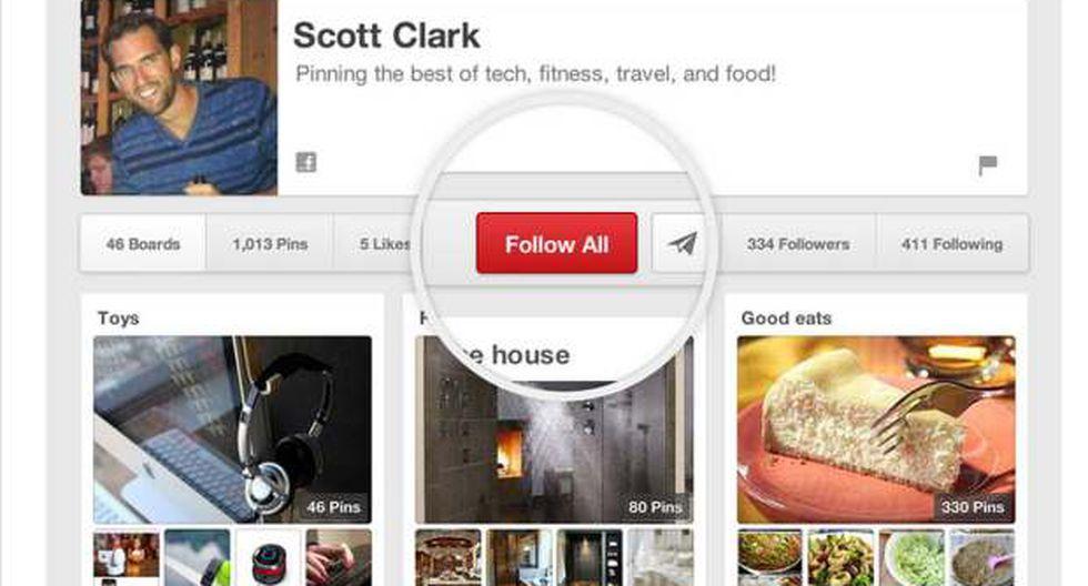 Pinterest quiere evitar que otros ganen dinero a coste de ellos