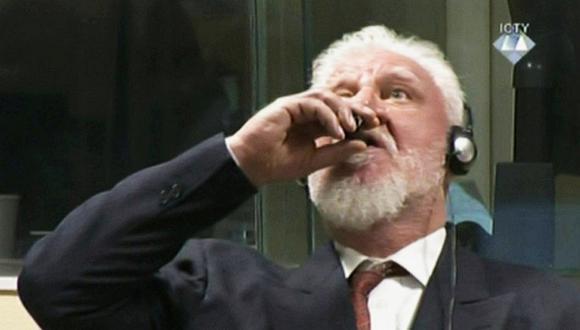El de Slobodan Praljak no es el primer caso de suicidio de un criminal bajo custodia del Tribunal de La Haya para la ex-Yugoslavia. (Foto: Reuters)