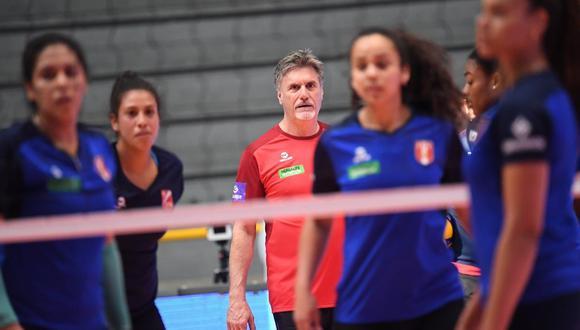 Hervás llegó al cargo de técnico de la selección mayor en agosto del 2018. (Foto: FPV)