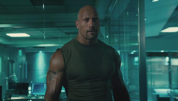 """Furious 7"": 'La Roca' pelea con Jason Statham en nuevo avance"