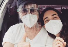 'Rulito' Pinasco recibió segunda dosis de la vacuna contra el COVID-19, reveló su hija Chiara [VIDEO]
