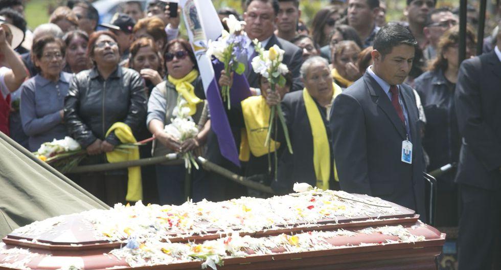 Freddy Ternero: último adiós al ex técnico en Huachipa (FOTOS) - 6
