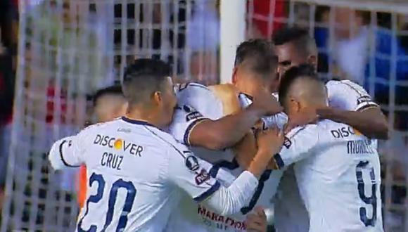 Nicolás Freire fue el autor del 1-0 en el Liga de Quito vs. Peñarol en el marco de la jornada 1 de la Copa Libertadores 2019 (Video: YouTube)