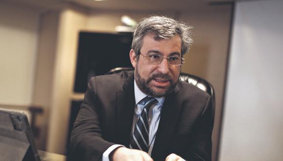 Piero Corvetto Salinas ha pedido sin éxito más presupuesto al MEF y a ONPE. (FOTO: César Campos)