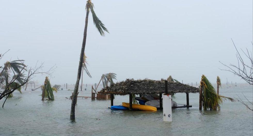Huracán Dorian en Bahamas. Foto: Reuters