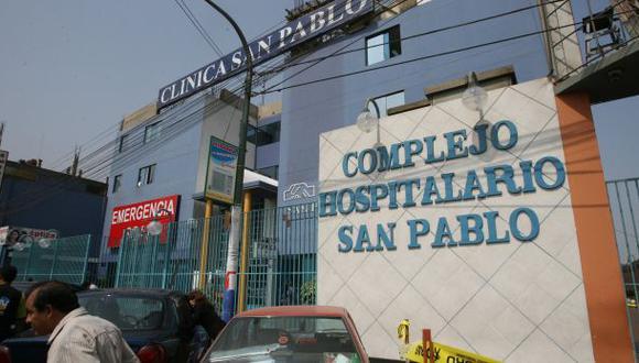 Clínica San Pablo: Sunasa brindó avances de las investigaciones