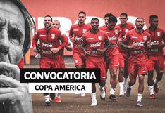Ricardo Gareca anunció a los convocados para la Copa América 2021 sin Paolo Guerrero