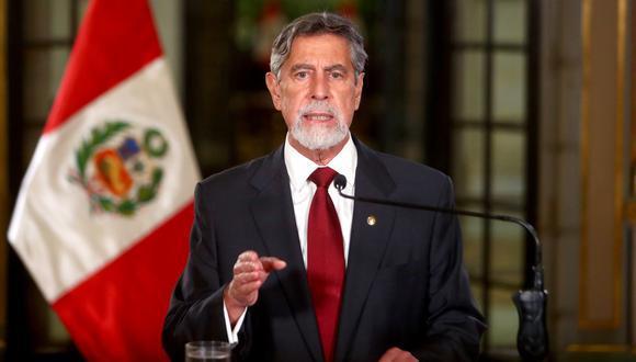 Francisco Sagasti dijo que respeta las decisiones del JNE en el proceso electoral. (Foto: Presidencia)