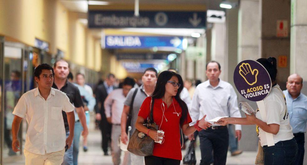 El 51% de los usuarios que suben diariamente a los buses del Metropolitano es mujer. (Foto: GEC)