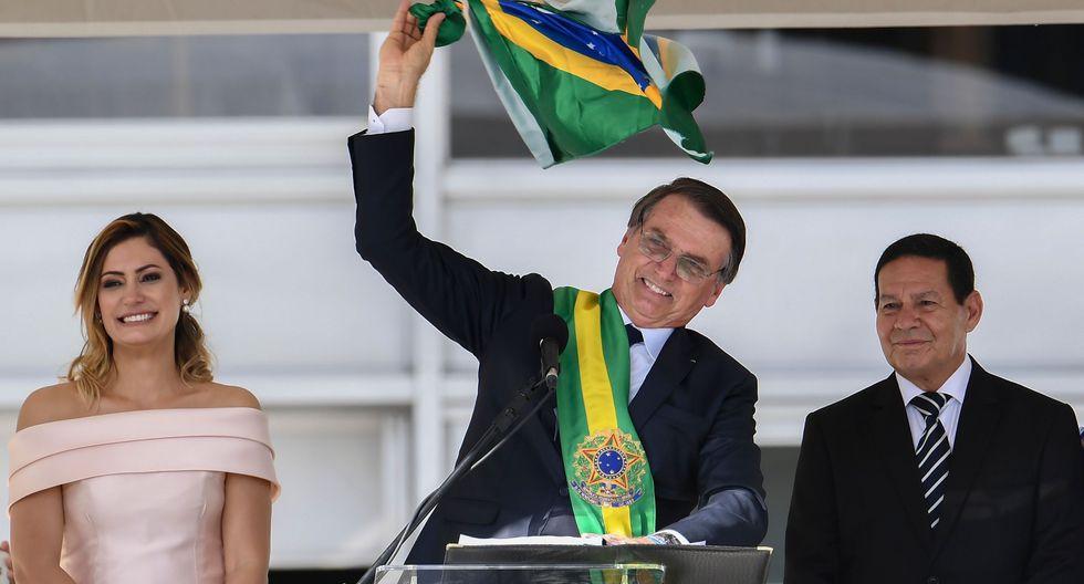 """Jair Bolsonaro dijo este miércoles que la noticia fue """"muy bienvenida"""" y reveló que su Gobierno trabajaba de forma reservada """"desde hace meses"""". (Foto: AFP)"""