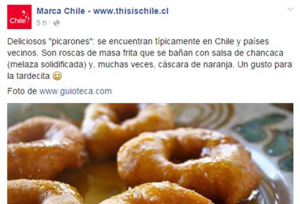 """Facebook: promoción de """"picarones chilenos"""" genera polémica - 3"""