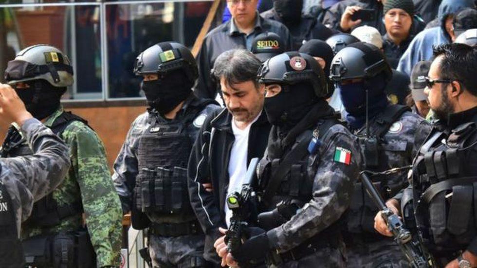 Dámaso López fue funcionario del sistema penitenciario mexicano antes de unirse al Cartel del Sinaloa. Foto: Getty Images, via BBC Mundo