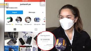 Estafan con S/2500 a joven que pretendió comprar Iphone por redes sociales
