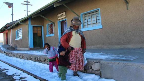 Heladas en Arequipa continuarán hasta el miércoles