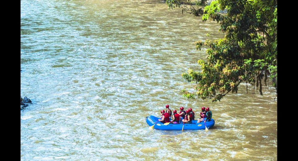 Kayak, canopy, ciclismo de montaña y rappel son algunos de los deportes favoritos de los turistas que llegan a Oxapampa. (Foto: Fernando Criollo / PromPerú)
