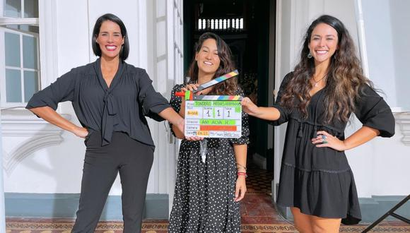 """""""Medias hermanas"""", la película que producen y protagonizan Magdyel Ugaz y Gianella Neyra, finalizó su rodaje. (Foto: @tondero)"""