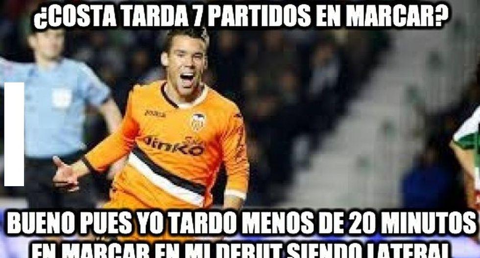 Diego Costa y los memes que generó por su primer gol con España - 12