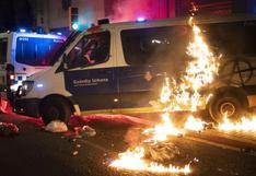 Nuevos disturbios en protestas en Barcelona contra el encarcelamiento del rapero Pablo Hasél  | FOTOS