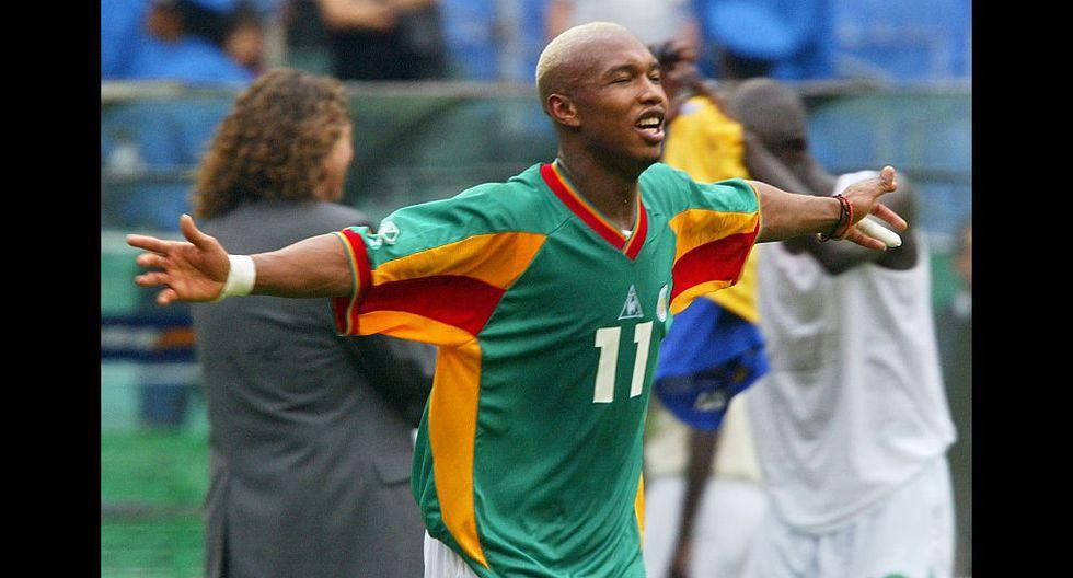 El Hadji Diouf (Senegal). (Foto: AFP)