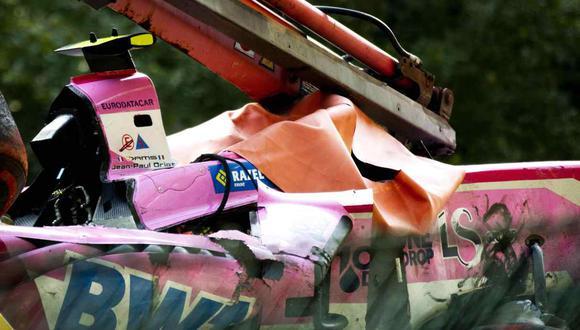 El accidente que terminó con la vida del piloto Anthoine Hubert. (Foto: AFP / Video: YouTube)